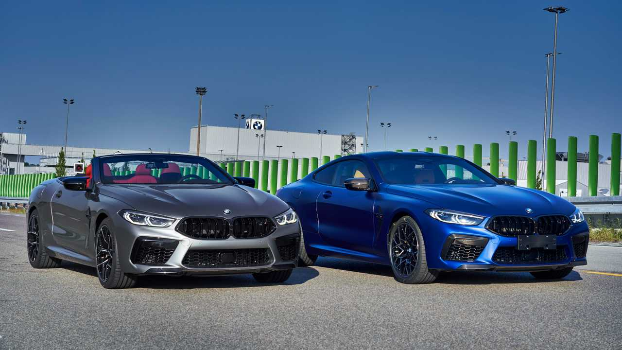 BMW M8 Competition Coupe, M8 Competition Convertible