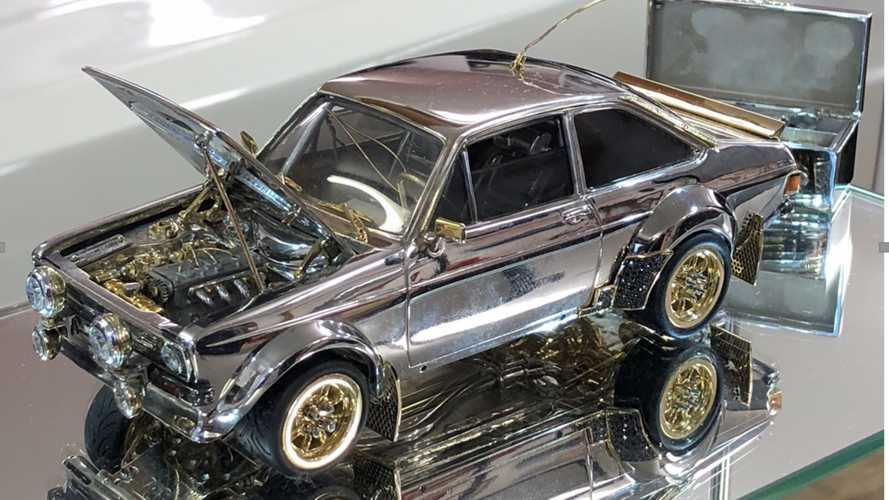 Is This Jewel-Encrusted Ford Escort The Most Expensive Ever?
