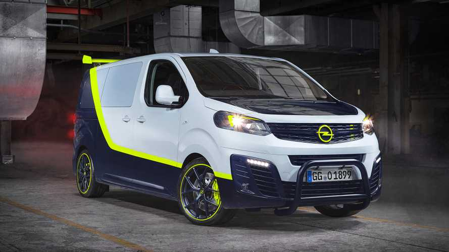 Opel Updates A-Team Van To 2019 With This Cool Zafira