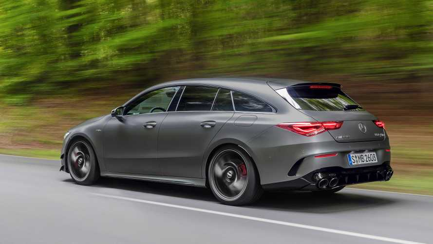 2019 Mercedes-AMG CLA 45 Shooting Brake: Tarzın 421 bg hâli