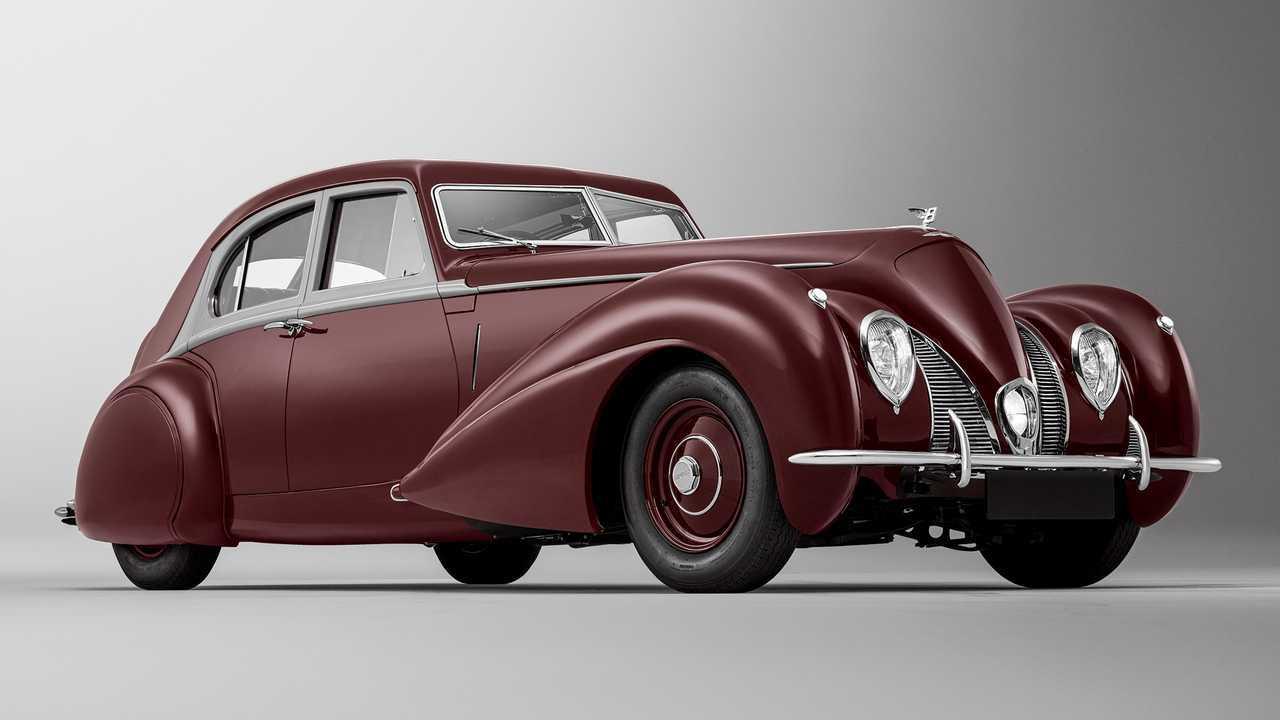 Bentley Corniche 1939 года
