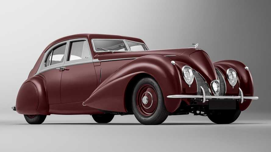 Bentley breathes new life into one-off Corniche lost in WW2