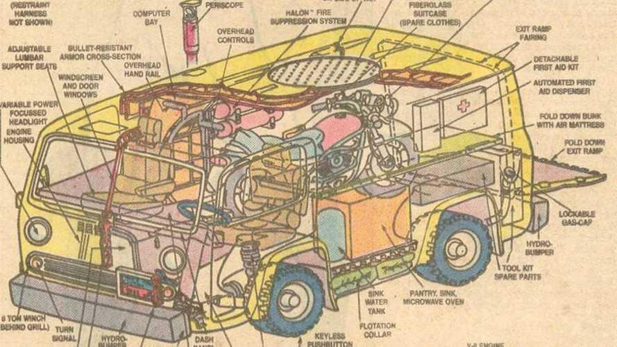 DYK: Captain America Lived #Vanlife In Custom Chevy Cargo Van