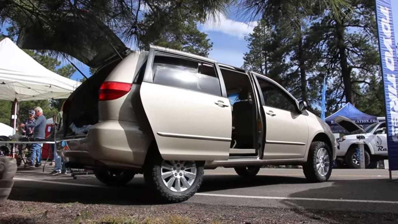 Toyota Sienna Lift Kit | Motor1 com Photos