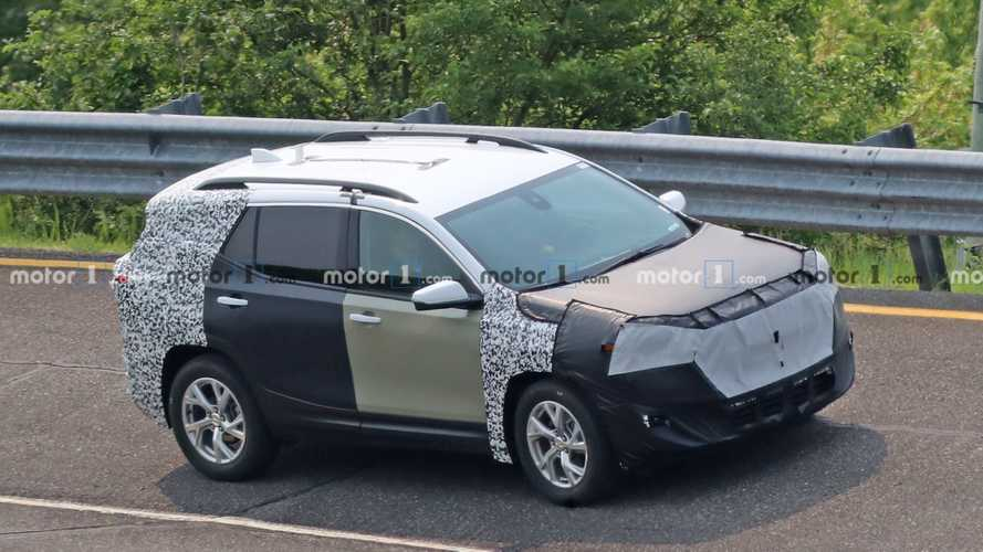 2021 GMC Terrain Facelift Spied For The First Time