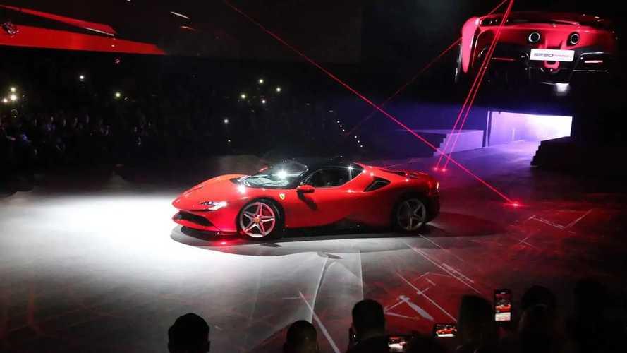 Il reveal della Ferrari SF90 Stradale a Fiorano