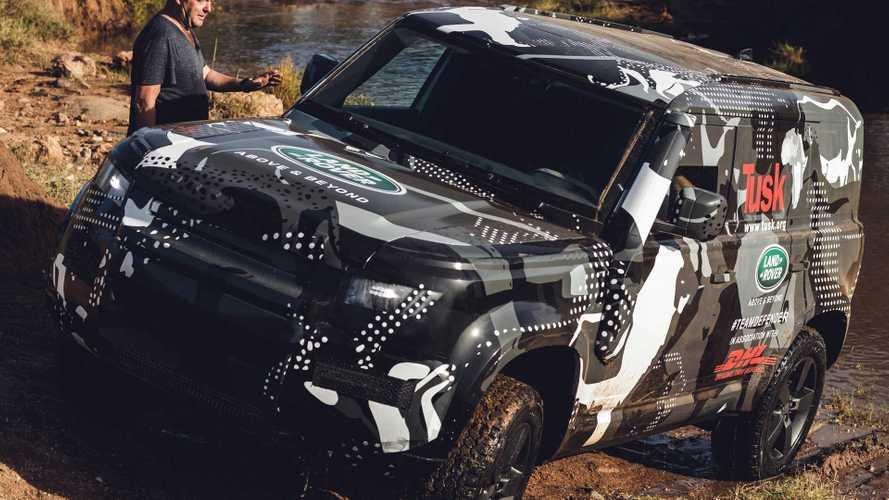 Petite ballade africaine pour le nouveau Land Rover Defender