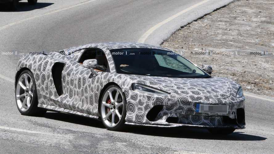 McLaren Grand Tourer Spied Testing Before Official Debut