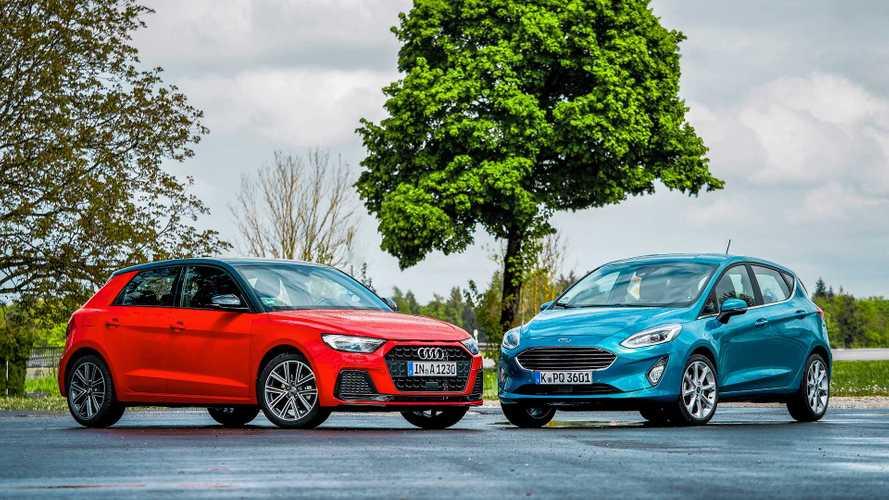 Audi A1 und Ford Fiesta im Vergleichstest