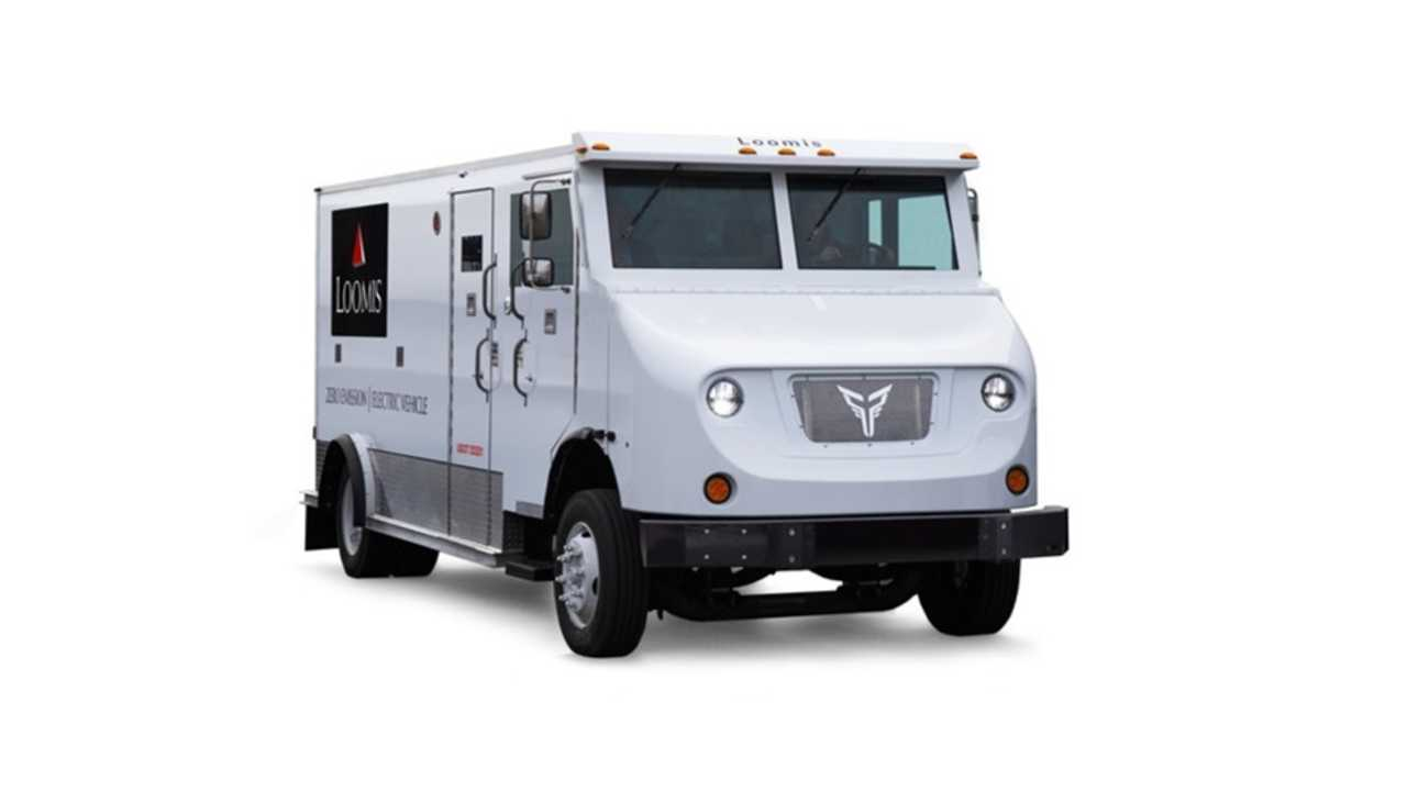 Loomis/Xos electric armored vehicle