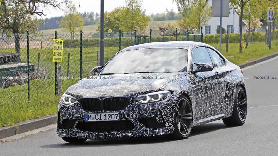 2020 BMW M2 CS spied at the Nurburgring