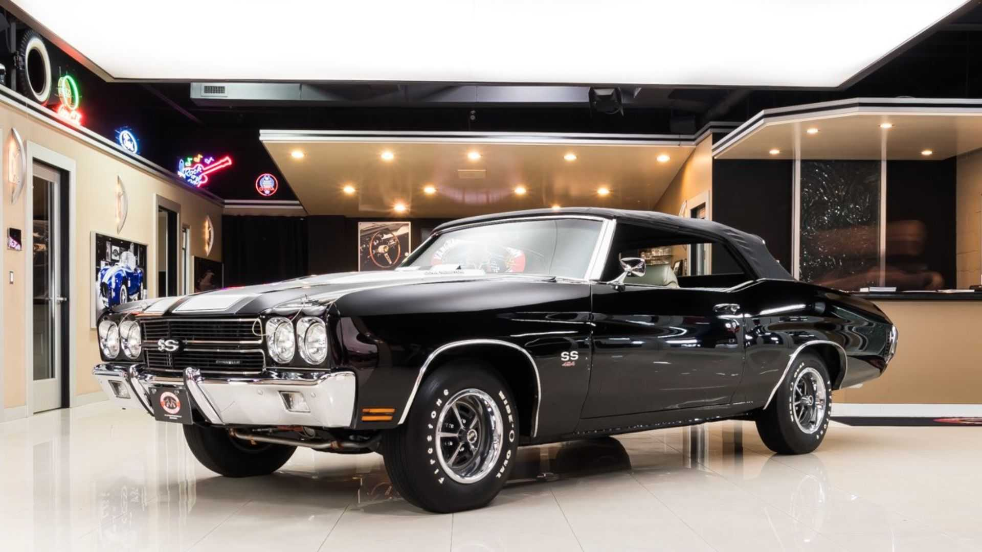 "[""Someone Lucky Will Scoop This 1970 Chevrolet Chevelle Convertible SS 454""]"