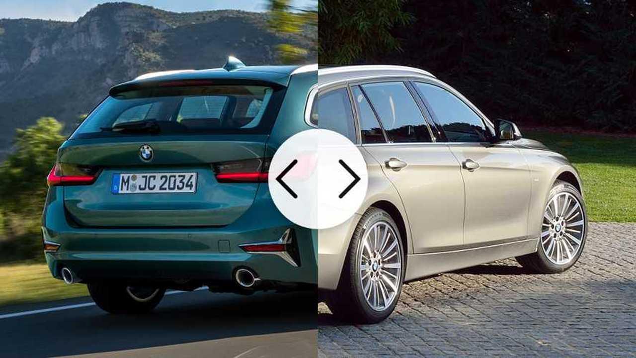 Nuova BMW Serie 3 a confronto con la vecchia