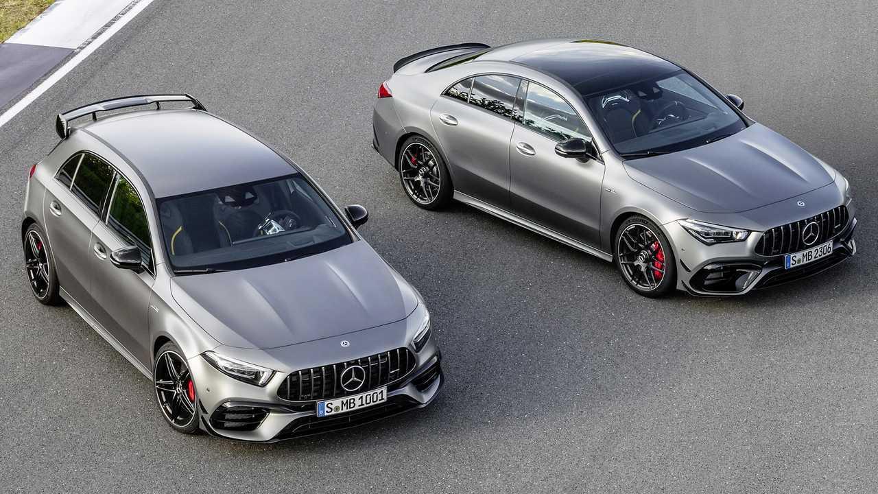 Nuove Mercedes-AMG A 45 4MATIC+ e Mercedes-AMG CLA 45 4MATIC+