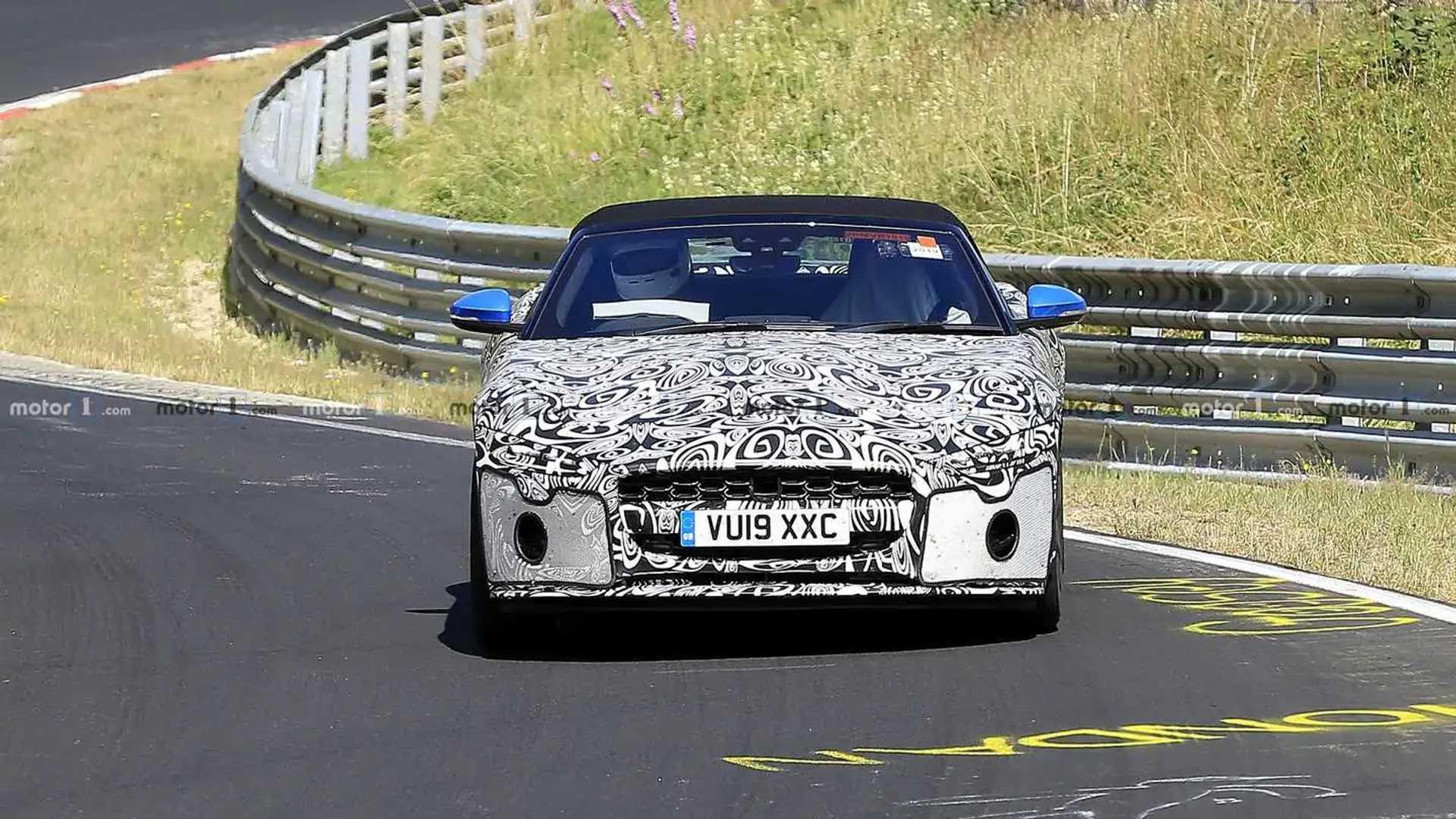 Facelifted Jaguar F-Type Coupe, конвертируемый шпион [ОБНОВЛЕНИЕ]