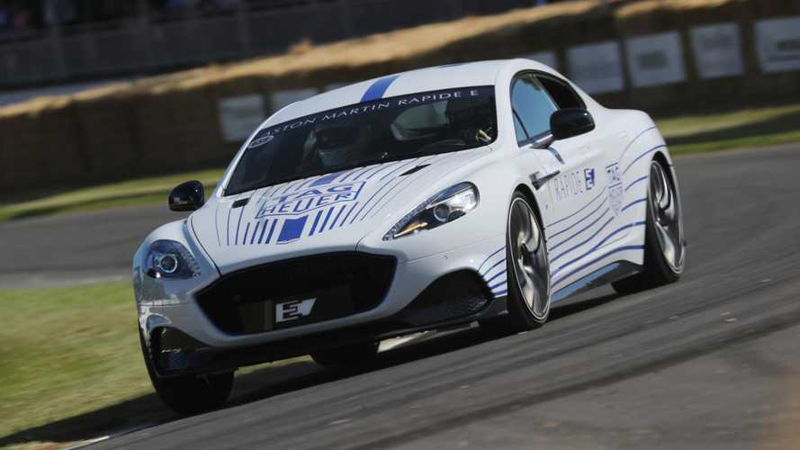 Quick Look At The Aston Martin Rapide E At Goodwood: Video