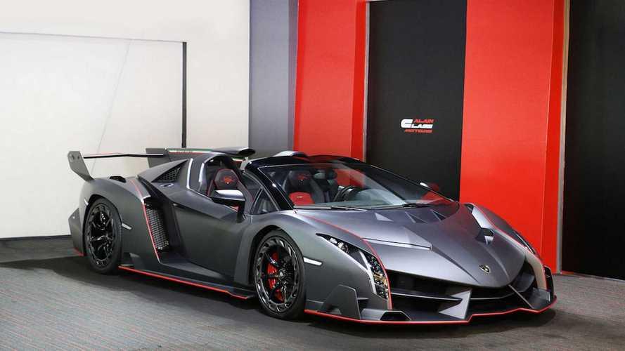 Une des 9 Lamborghini Veneno Roadster est à vendre