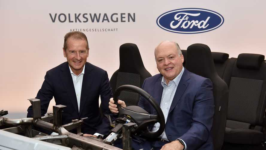 Ford-VW Partnership Expands, Blue Oval Getting MEB Platform For EVs
