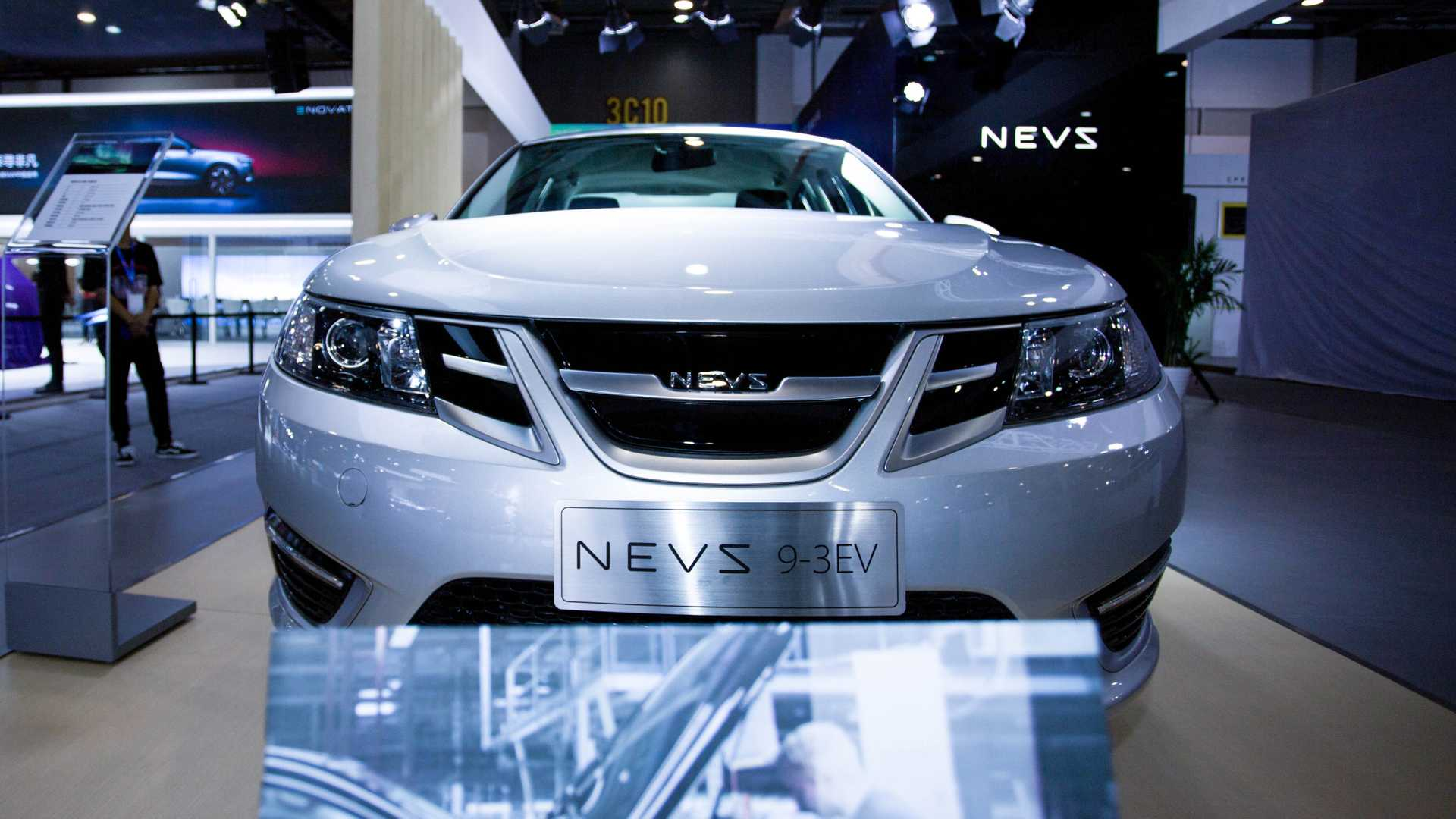 NEVS 9-3 EV Enters Production In China