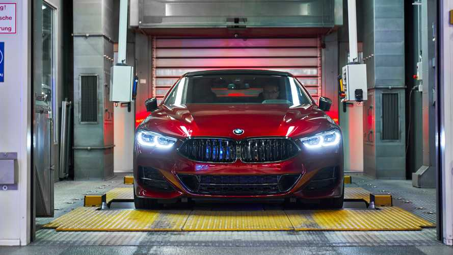 BMW 8 Series Gran Coupe enters production at Dingolfing factory