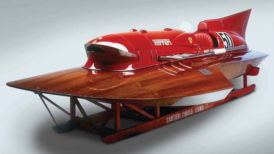 Единственная гоночная лодка Ferrari выставлена на продажу