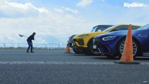 Top Gear Lambo Vs Mercedes-AMG Drag Race