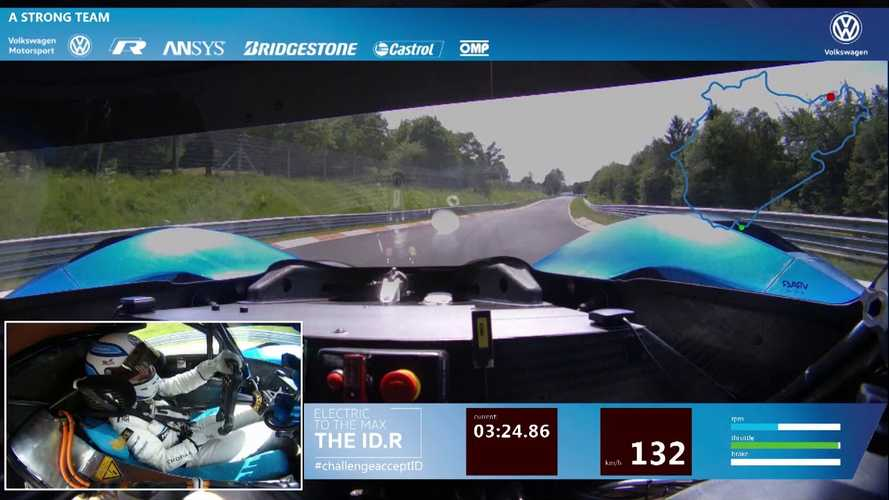 Volkswagen I.D. R Nordschleife Record Run From Driver Perspective