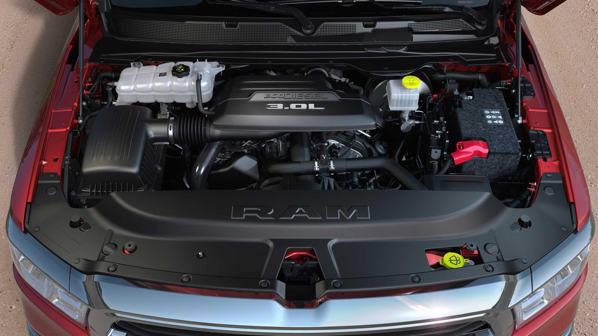 ram  ecodiesel debuts   lb ft  torque