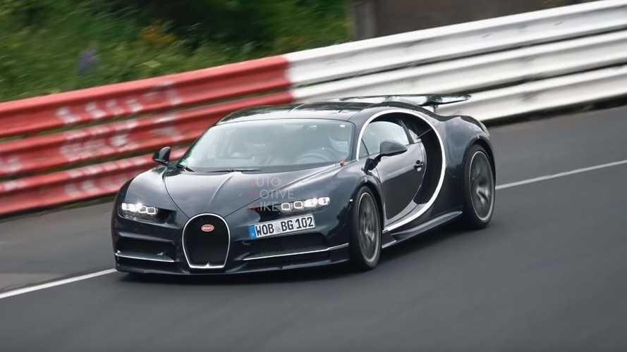 VIDÉO - Bugatti envoie deux Chiron sur la Nordschleife