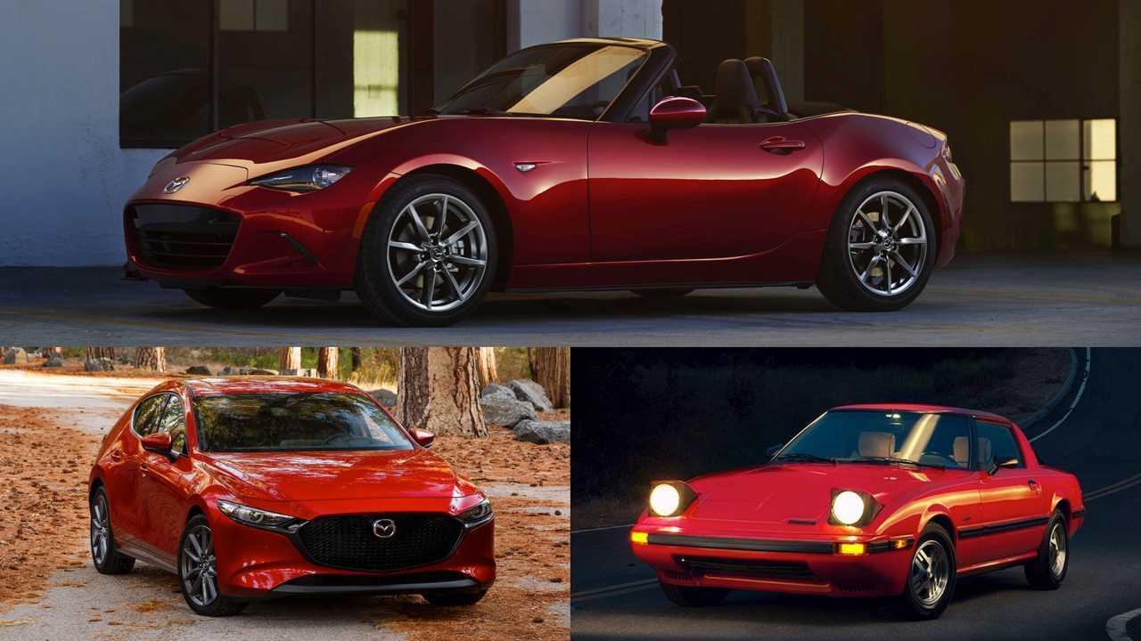 Mazda: Mazda3, MX-5 Miata, RX-7