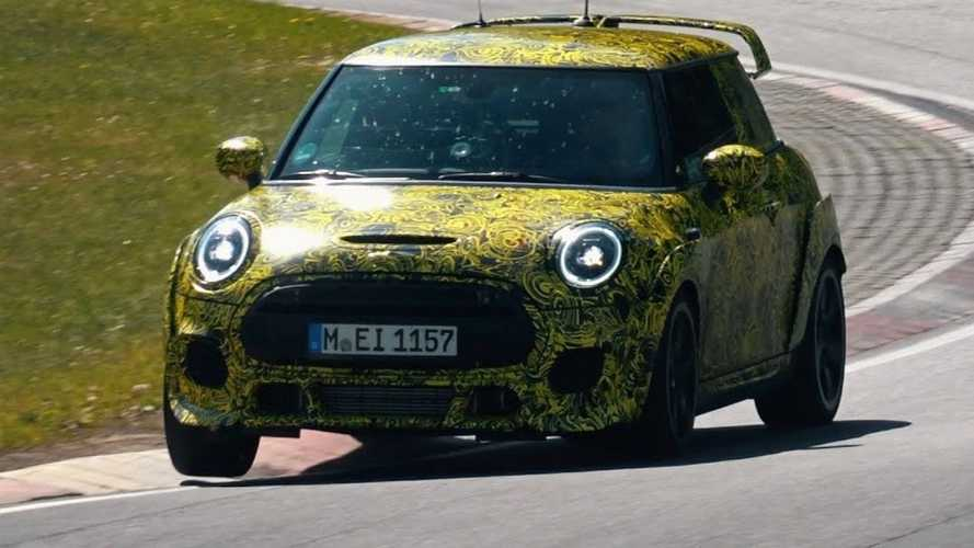 2020 Mini JCW GP Spied Perfecting Pocket Rocket Recipe