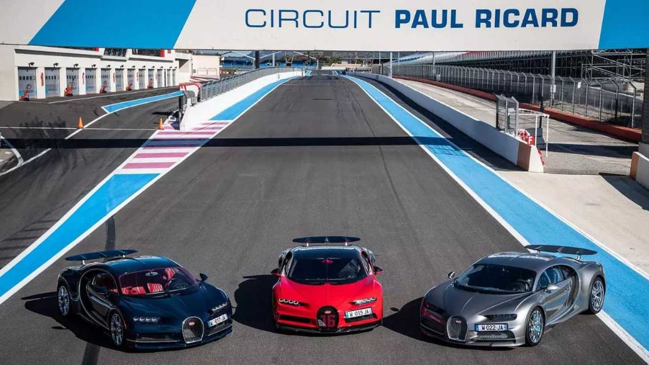 Bugatti Chiron Circuit Paul Ricard