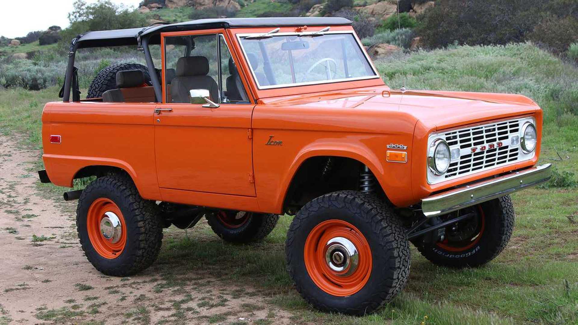 «Икона»: самый дорогой в мире старый внедорожник Ford