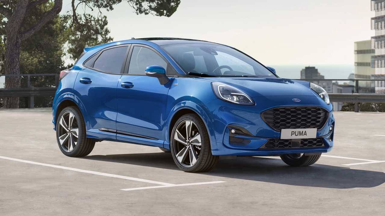 Ford Puma official photos