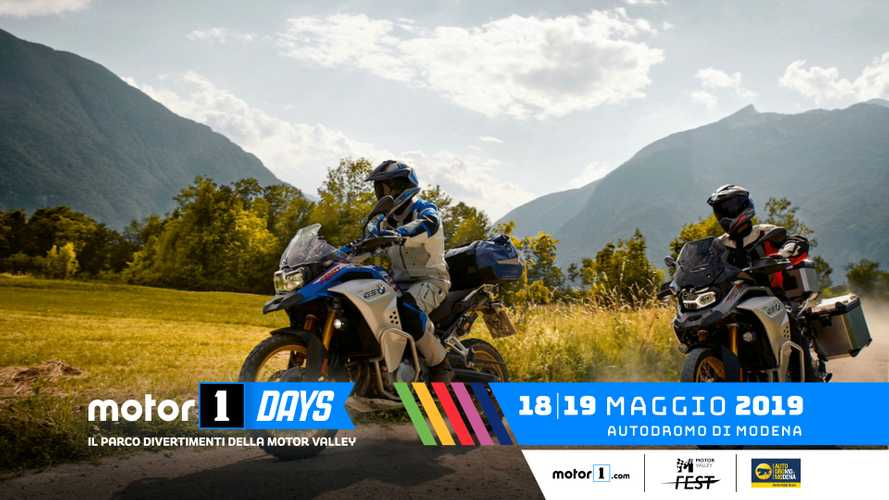 BMW Motorrad, le GS al Motor1Days