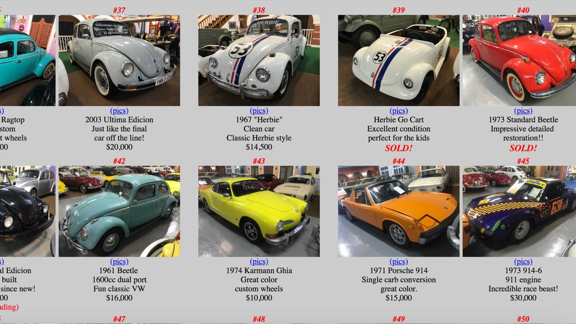"""[""""Volkyland Museum Collection Sale""""]"""