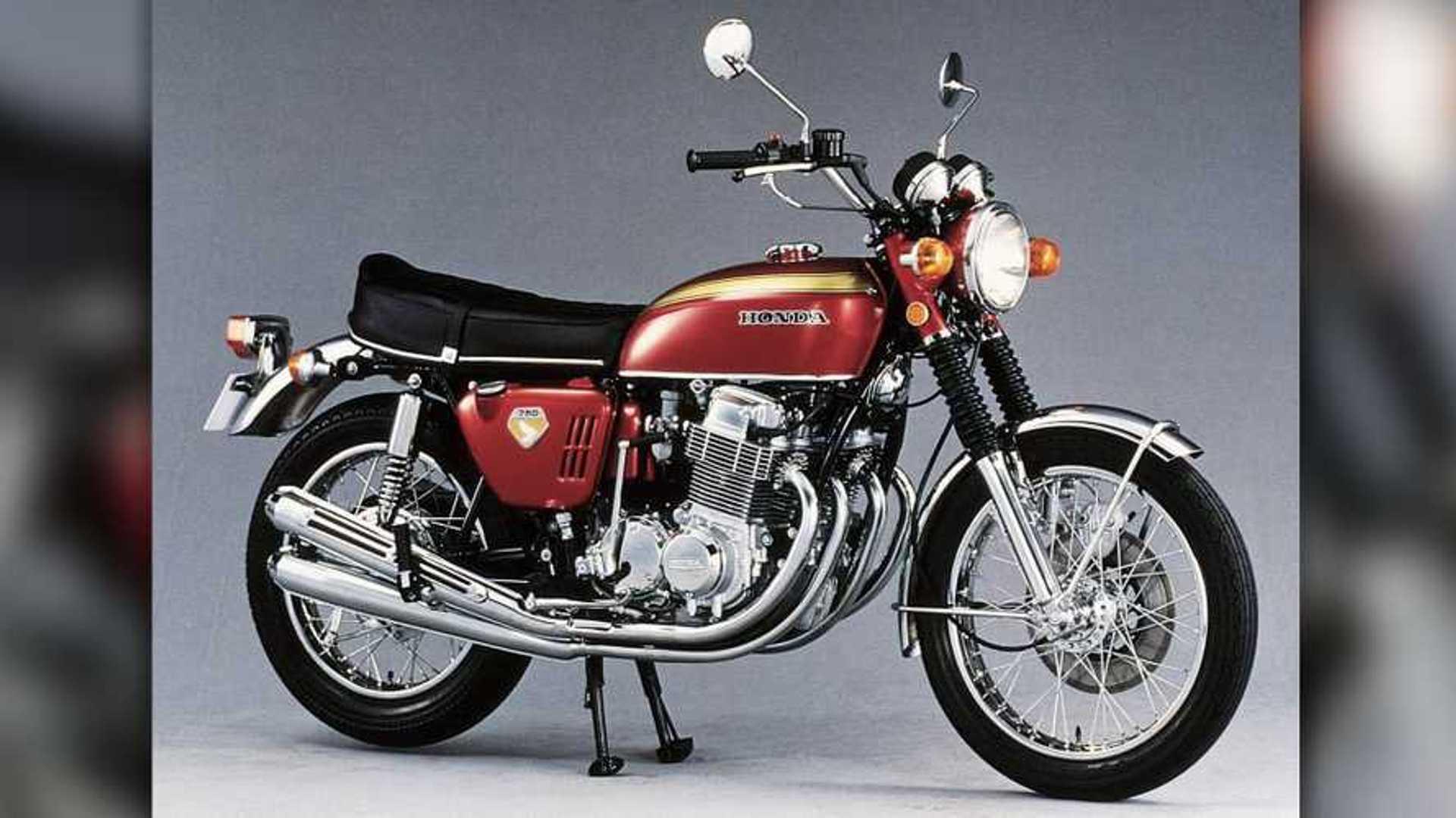 Birth Of The Japanese Superbike Happy Anniversary Cb750 Four