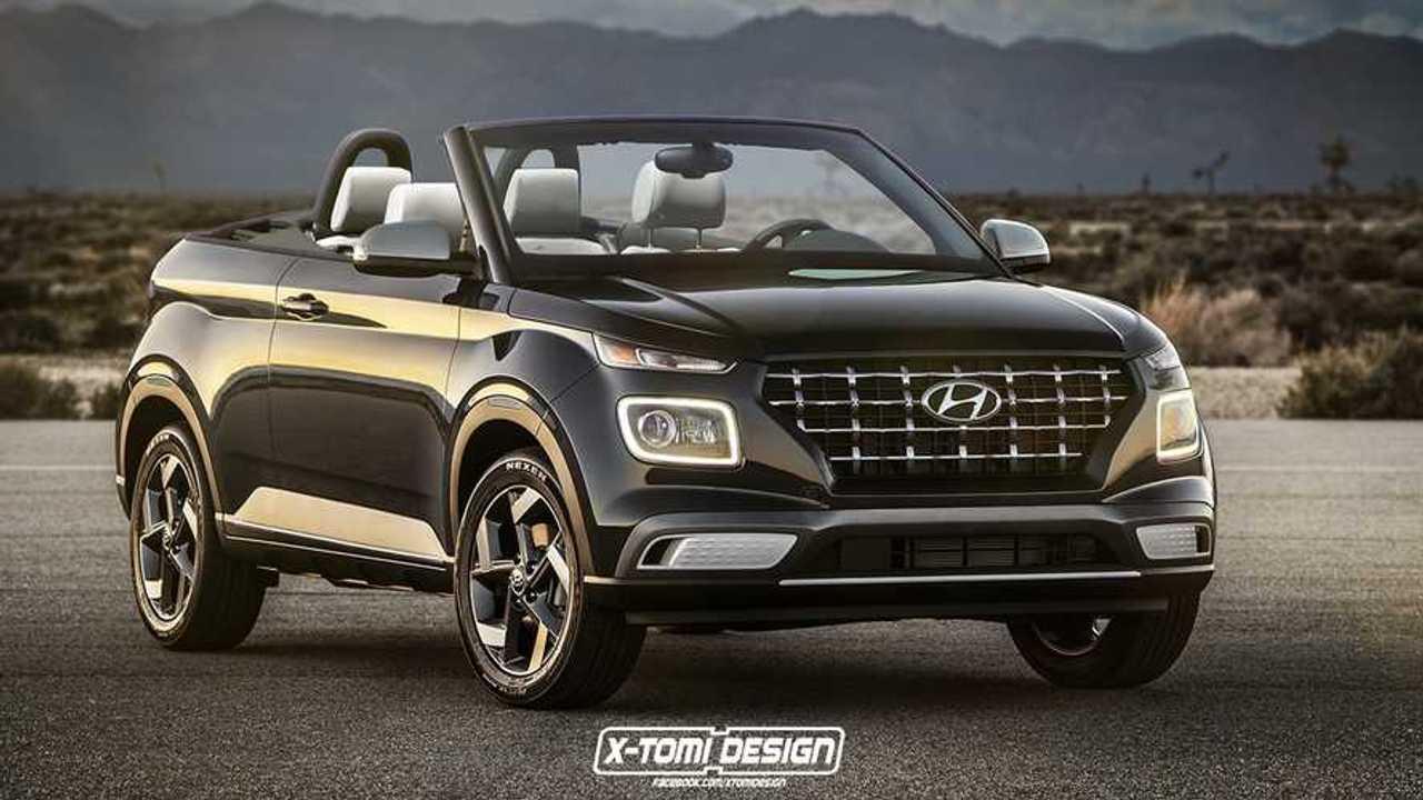 Hyundai Venue Cabrio rendering