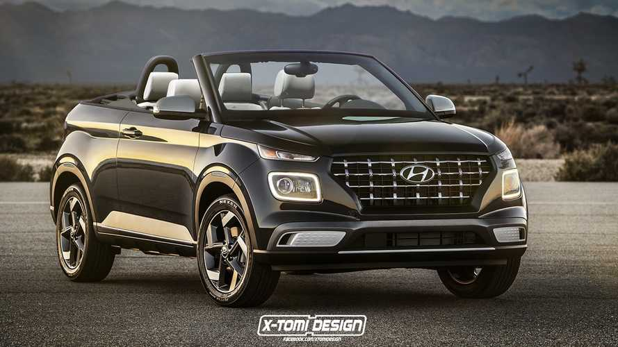 Hopefully, Venue Cabrio Render Won't Give Hyundai Any Ideas