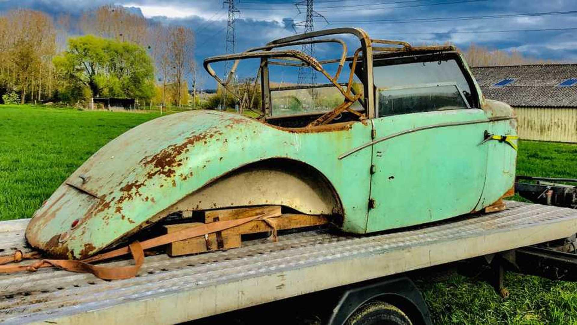 Une carrosserie de Bugatti Type 44 en vente aux enchères