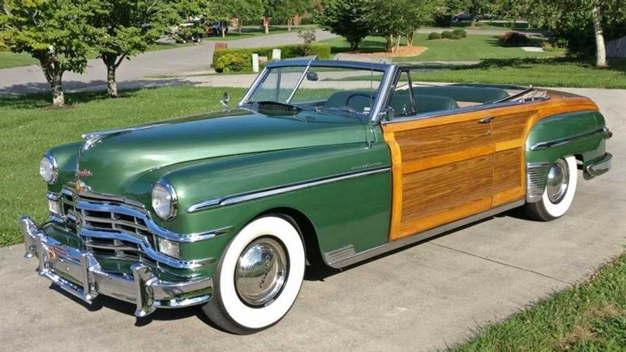 Drive Smooth And Stylish In This 1949 Chrysler Town And Country