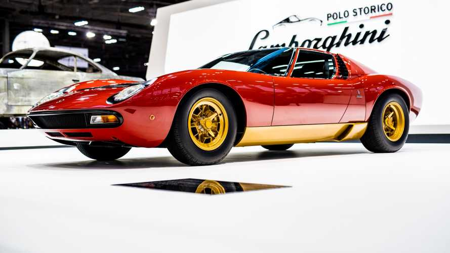 Concorso di Eleganza di Pebble Beach, 5 Lamborghini Miura in gara