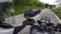 ferrari hybrid supercar spied motorcycle