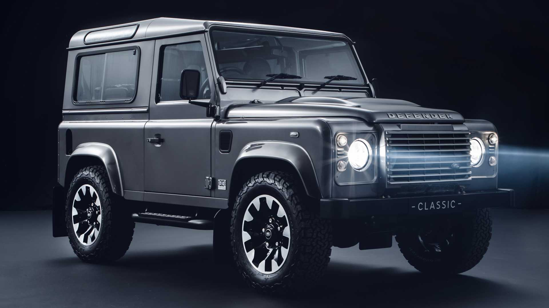 Land Rover Freshens Up Old Defender With New Upgrades