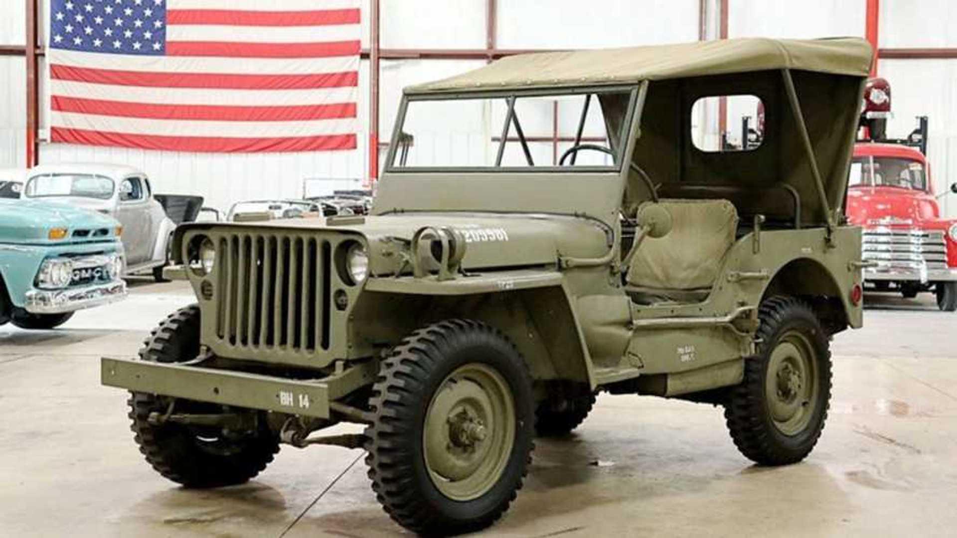 """[""""Celebrate Freedom With A 1945 Jeep CJ-2A""""]"""