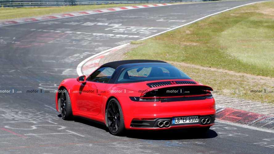 2020 Porsche 911 Targa Spy Photo | Motor1.com Photos