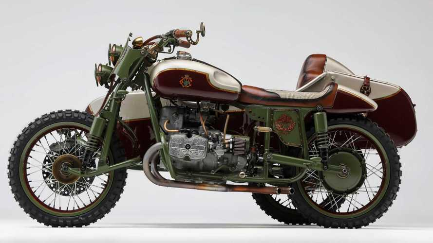 Check Out This Amazing Custom Ural Sidecar Rig