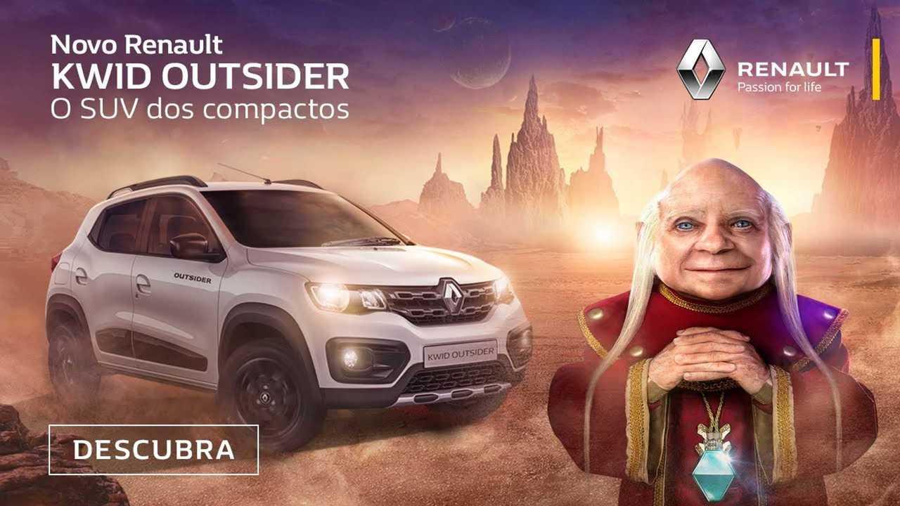 Renault Kwid Outsider- Comercial