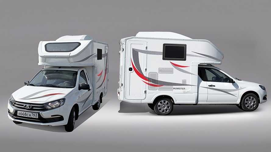 Lada motorhome is for outdoorsy people on a tight budget