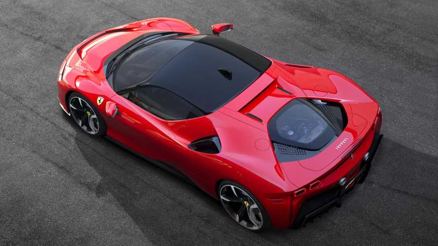 Ferrari SF90 Stradale PHEV has a charging port dilemma